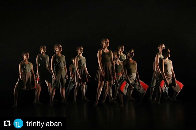 @trinitylaban ・・・ Today marks 100 years since the First World War ended. Pictured is dance work '-2018+', performed by TL CAT students to commemorate this significant day. See the video of the work here: https://vimeo.com/299623676