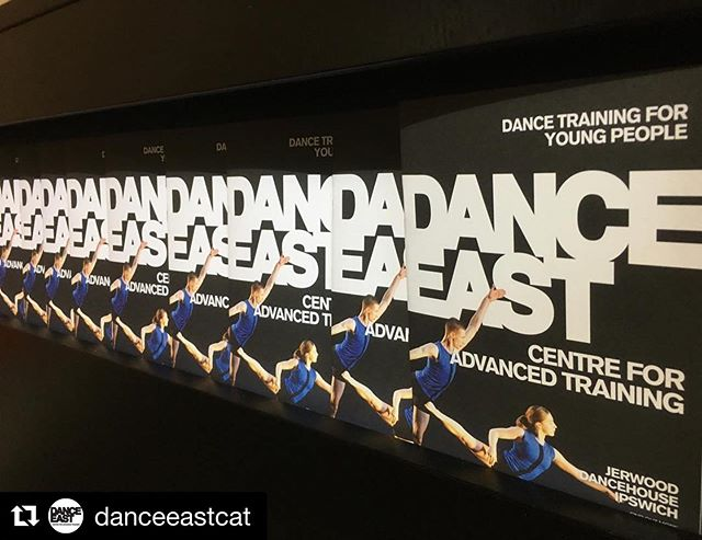 @danceeastcat ・・・ Our new CAT brochure has arrived!! @natdancecatuk @danceeast