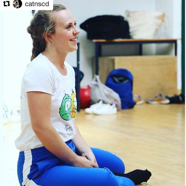 @catnscd with @get_repost ・・・ Our new alumni case studies are starting to go up on the @natdancecatuk website www.nationaldancecats.co.uk – this is the lovely Anna Holmes