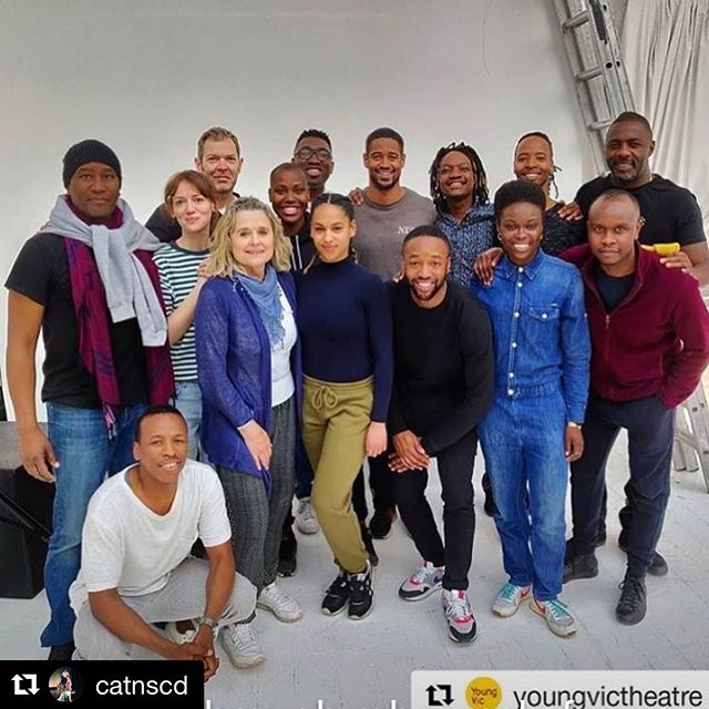 @catnscd ・・・ Congratulations to @catnscd alumni Daniella May working on the production of with the @youngvictheatre & @idriselba @natdancecatuk @conservatoiredd @northern_school