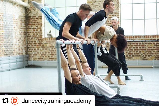 @dancecitytrainingacad of the brilliant @blainerichardson one of our BTEC and CAT Alumni during his time with @balletboyz . 'My rather shocked face. Last few rehearsals before our China Tour'. Photo Credit: @j1mmypiper