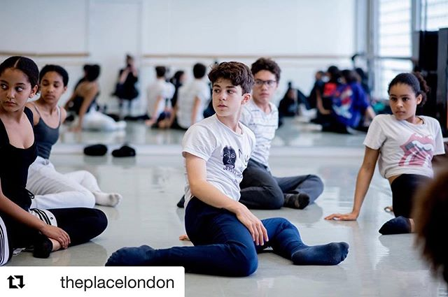 @theplacelondon ・・・ It's Tuesday and that means it's only four days to go until our lovely CAT students return to The Place studios. We can't wait to see you all on the 14 Sep.  @natdancecatuk