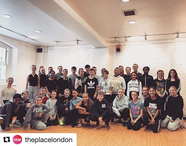 @theplacelondon ・・・ Introducing our new CAT student for 2019-20, who are starting their journey to develop into creative thinkers and inspiring movers 🌍