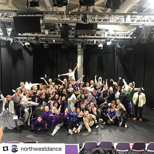 @northwestdance ・・・ This is our wonderful @the_lowry CAT Family including students and tutors at our End of Term 1 Sharing. We're looking forward to welcoming them all back after the Christmas break!  Want to find out more about the North West Centre for Advanced Training email us at CAT@thelowry.com  @natdancecatuk @cypdnn