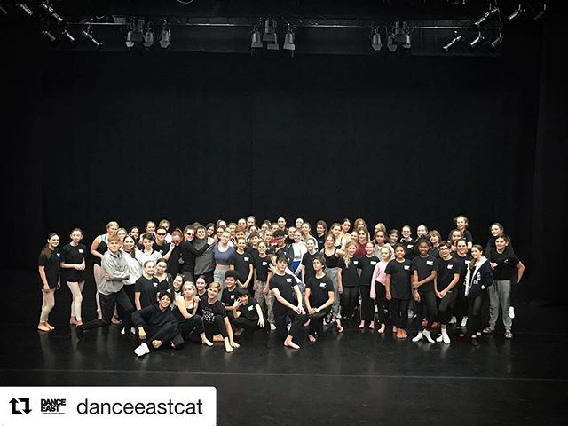 @danceeastcat ・・・ …and we're back!!! We kicked off the Spring Term with Off-Timetable Day led by our wonderful CAT Tutors. Happy 2020!