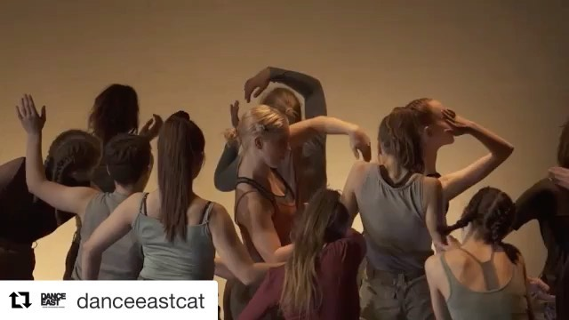 @danceeastcat ・・・ We're taking over @danceeast Instagram this weekend – check it out!😻⁠ ⁠ 📽️ DanceEast CAT End of Year Show 2019. Our Time @josephtoongacreates – filmed by @jw_cinematographer